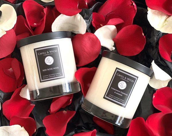 Cavill & Wicks Red Rose Noir & Forbidden Tuberose and Jasmine
